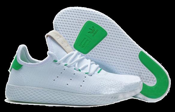 Фото Adidas x Pharrell Williams Tennis Hu Белые - 1