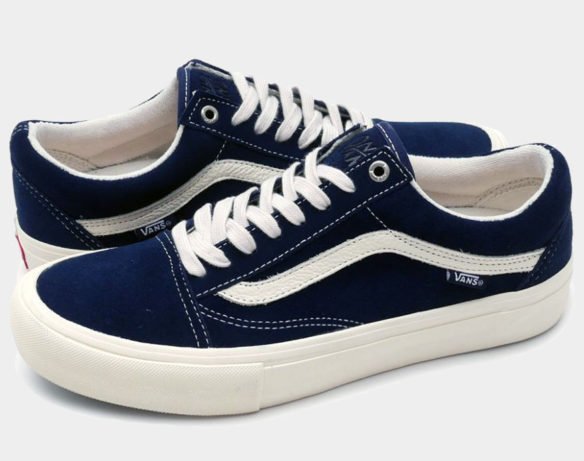 Фото Vans Old Skool x Only Ny синие - 2